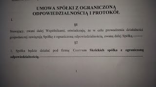 #162 Как мы компанию в Польше открывали. Часть 1.(Мы наконец начали открывать компанию в Польше (Spółka z o.o.). Как мы уже говорили много раз, например в этом..., 2015-06-01T12:54:46.000Z)
