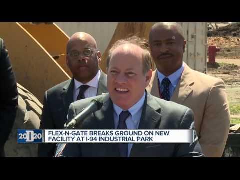 Flex-N-Gate breaks ground on new facility in Detroit
