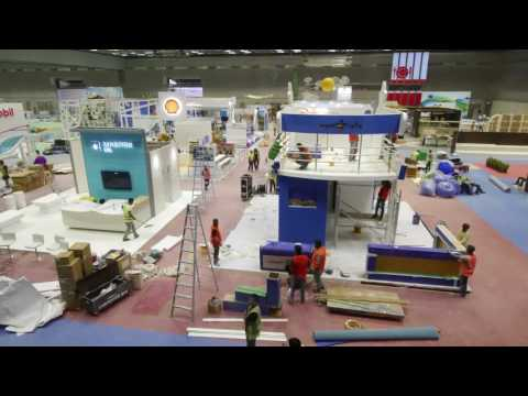 Exhibition Timplase Video in Qatar