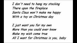 Play All I Want For Christmas Is You