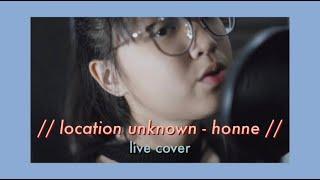 HONNE Location Unknown