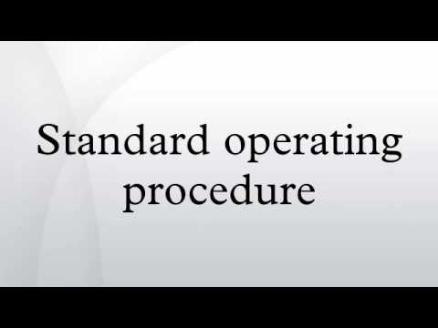 Standard Operating Procedure - Youtube