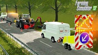 LS17 - Autobahn Mäharbeiten durch Bauhof Weber