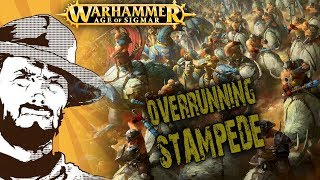 FFH Играем: Age of Sigmar Beastclaw and Ironjawz vs Stormcast (2000 pts)