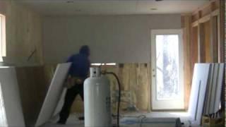 MTKD hanging sheetrock Part 1 / One Man Drywall