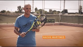 EN PISTA - NACHO MARTINEZ - BABOLAT PURE AERO