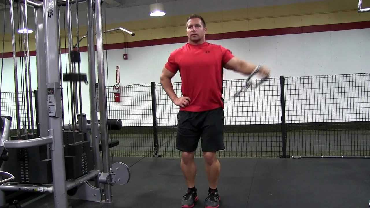 single arm cable side lateral raise youtube