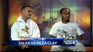 Only on 4: Two local Boxers almost come to blows during WTAE Interview