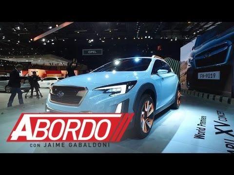 Subaru XV Concept - Ginebra 2016 A Bordo