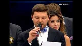 Zlata Ognevich - Sings the Ukrainian Anthem at a boxing match. 21/9/13