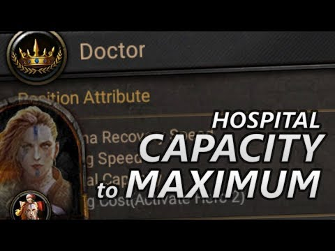 Increase Your HOSPITAL CAPACITY To Max With Your DOCTOR!!