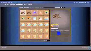 How to view someone inventory in TF2