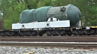 Secret US Military Weapon on Freight Train