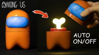 Making Among Us Mood Lamp