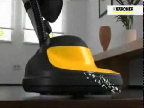 KARCHER Floor Polisher FP303  YouTube
