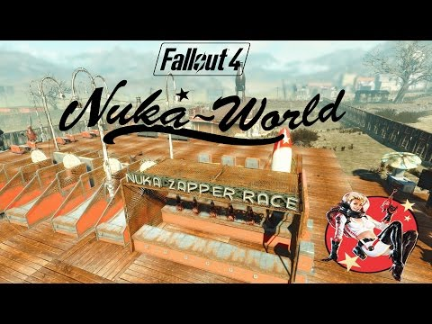 Nuka-World Red Rocket Settlement Building #1 Fallout 4