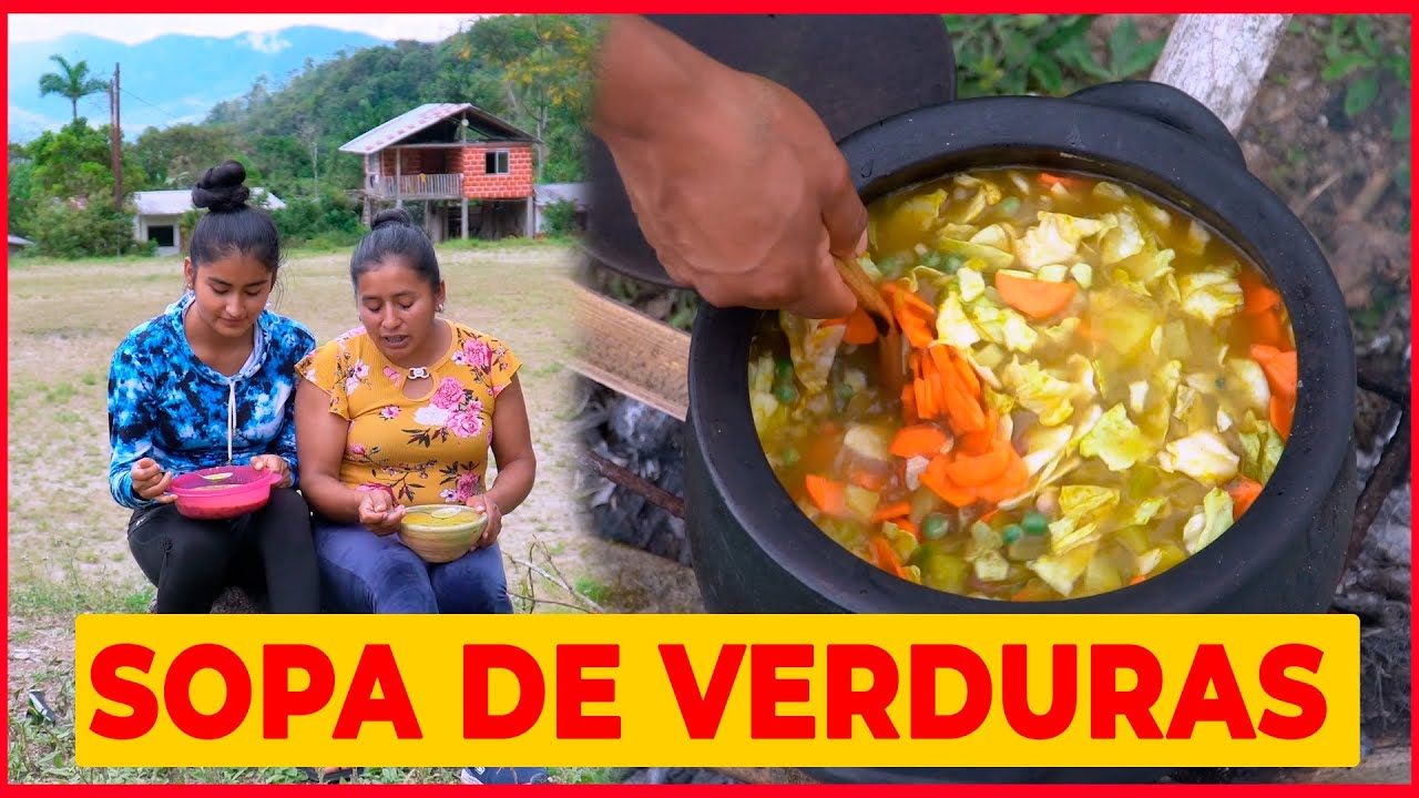 Download Sopa de Verduras  al Estilo de Doña Viky