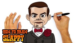 How to Draw Slappy (Goosebumps)- Kids Art Lesson