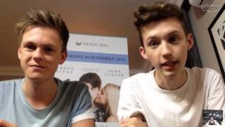 We chat to Troye Sivan and Caspar Lee