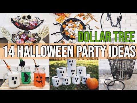 🎃14 DOLLAR TREE HALLOWEEN PARTY IDEAS