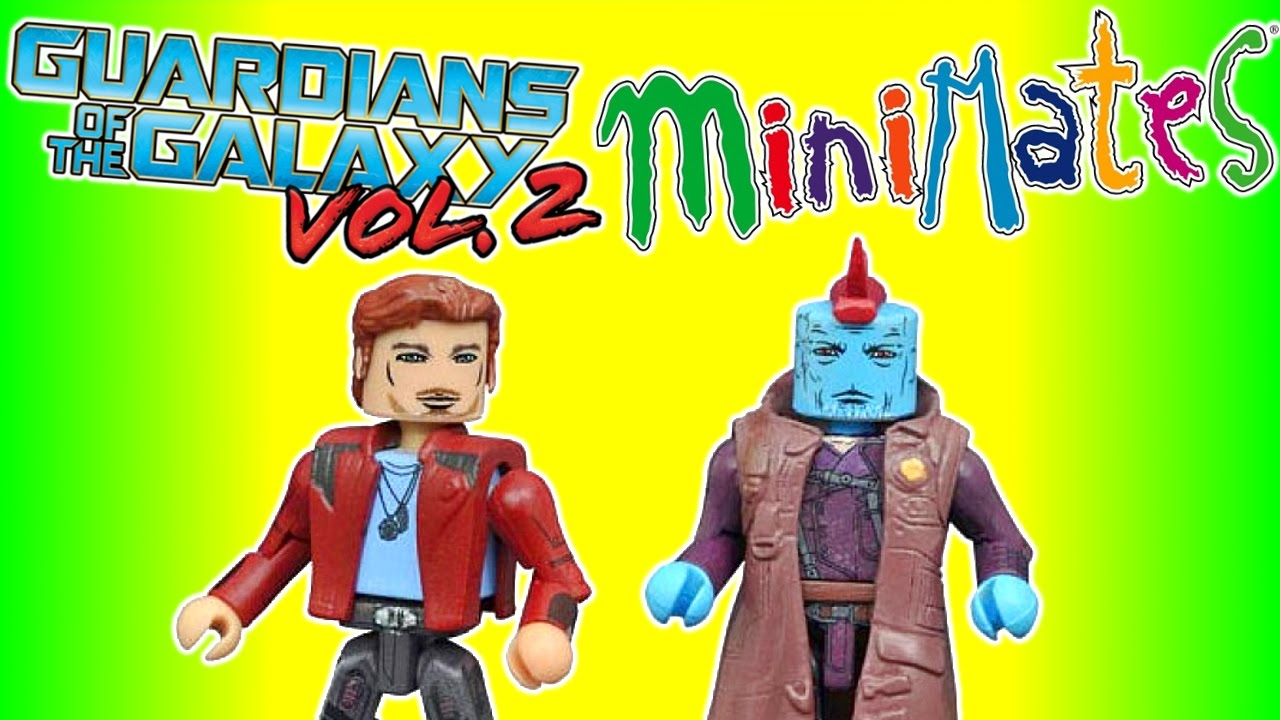 Marvel Minimates Series 71 Guardians of the Galaxy 2 Movie Star-Lord /& Yondu