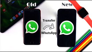 How to Transfer WhatsApp from Old iPhone to New iPhone