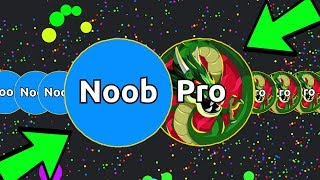 NOOB vs. PRO TROLLING in BALZ.IO! The NEW Agar.io