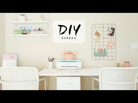 DIY Fais ton bureau Pinterest