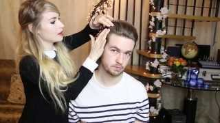 Mark Ronson inspired quiff with Katie & Andrew | Advertisement for ALL THINGS HAIR