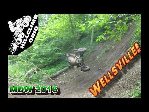 [HILLCLIMB OHIO] MEMORIAL DAY WEEKEND 2016, Wellsville oh, Hillclimbing/Riding/Wrecks!