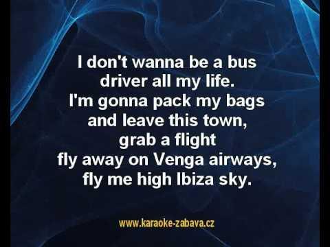 We´re going to Ibiza - Vengaboys Karaoke tip