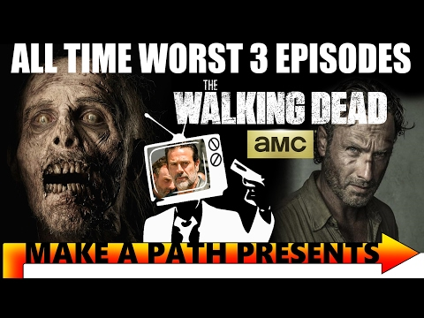 BAD EPISODES of The Walking Dead TV Series