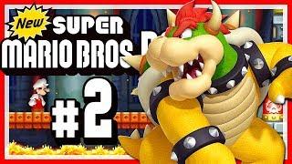 NEW SUPER MARIO BROS. DS # 02 🍄 Bowsers Schloss, Wüstenwelt und Kanalisationslevel! [HD60]