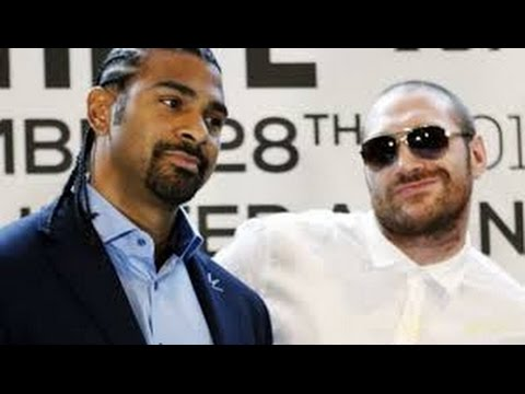 """TYSON FURY """"DAVID HAYE HAD HIS CHANCE, HES A WASHED UP BUM!"""""""