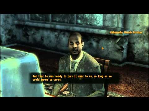 Fallout New Vegas The Strip part 14 of 17 NCR Embassy part 2 of 2 Ambassador Dennis Crocker