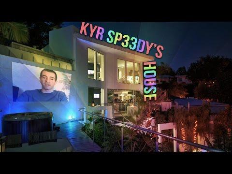 Kyr sp33dy's 1.5 million dollar LA House reveal