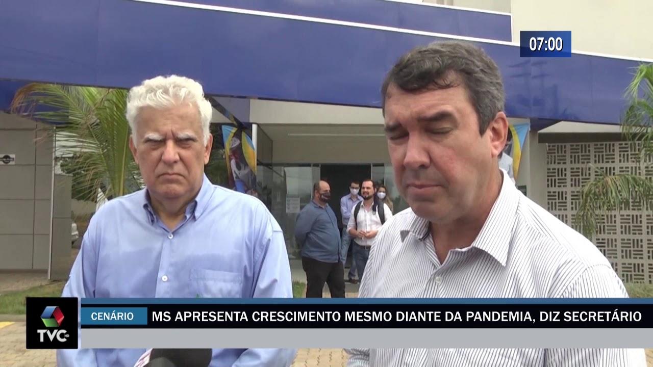 MS Apresenta crescimento mesmo diante da Pandemia, diz Secretário