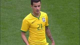 Philippe Coutinho vs Chile (Friendly 2015) HD 720p by i7xLFC