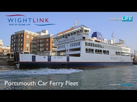 DEML2017 02 001 Portsmouth Car Ferry Fleet WIGHTLINK