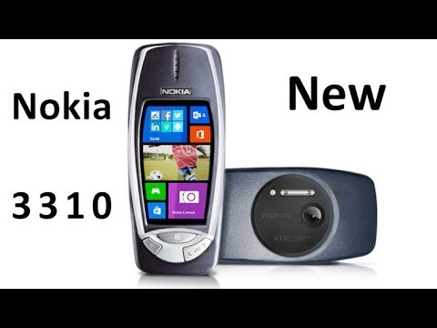 Thumbnail: Nokia 3310 new with 41 Megapixel camera and Windows Phone 8