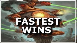 Hearthstone - Best Fast Wins