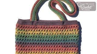 Crochet Criss Cross Bag