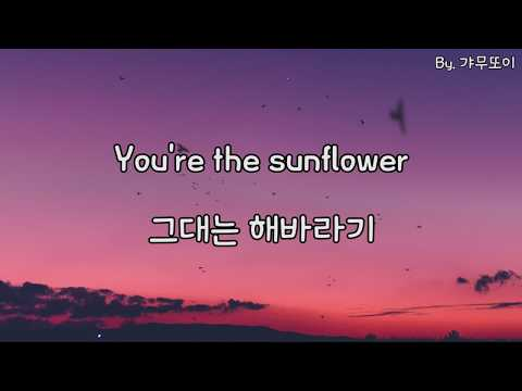 Swae Lee & Post Malon - Sunflower (스파이더맨: 뉴 유니버스 OST/스웨 리, 포스트 말론/한글/해석/번역/자막)