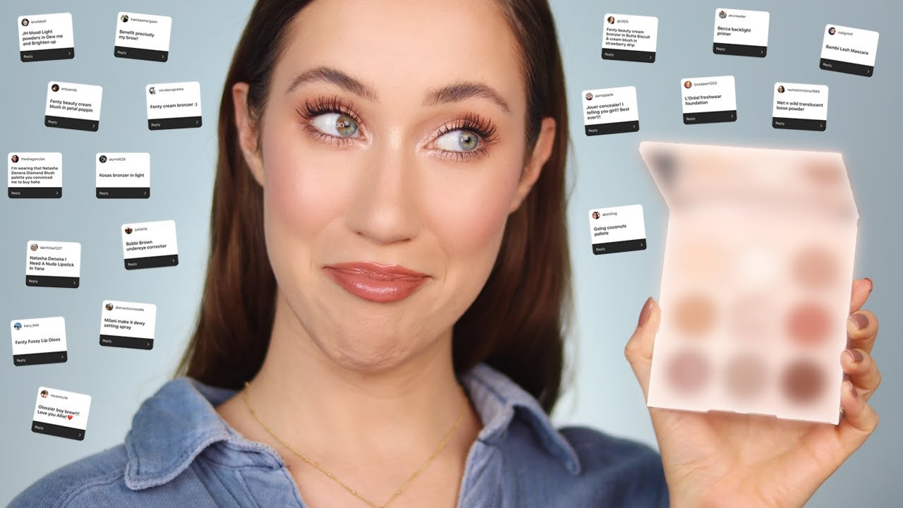 Full Face of Makeup YOU''RE Wearing