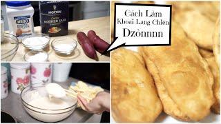 Cách Làm Khoai Lang Chiên Dzòn Rụm Thơm Ngon ♥ Sweet Potato Fries  | mattalehang