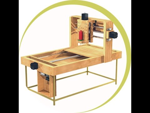 Learn How To Build A Cnc Woodworking Machine Best Tutorial Youtube