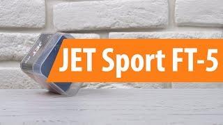 Розпакування фітнес-трекера JET Sport FT-5 / Unboxing JET Sport FT-5