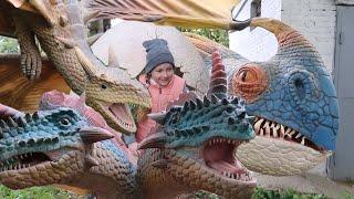 Парк с живыми драконами live dragon park