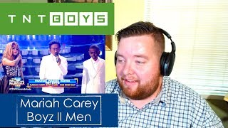 tnt boys as mariah carey and boyz ii men jerod m reaction