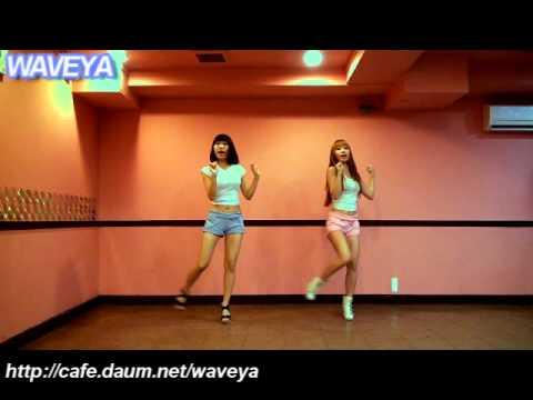 Waveya Ari MiU FX Hot Summer Kpop dance tutorial